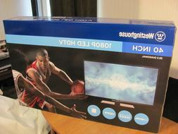 WESTINGHOUSE 40 inch; 1080p; HDTV;  {NEW} **PICK-UP ONLY**