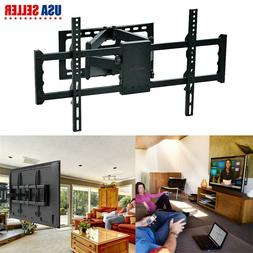 Jumbo Full Motion TV Wall Mount Double Articulating Arm for