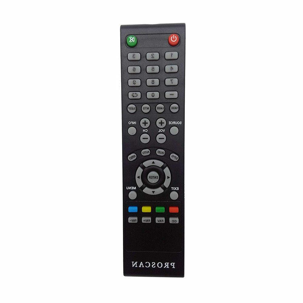 New Remote Control for PROSCAN TV   PLDED3996A-E, PLDED3273A