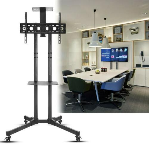 Tall Universal Mobile TV Cart TV Stand Mount /Trolley for 32