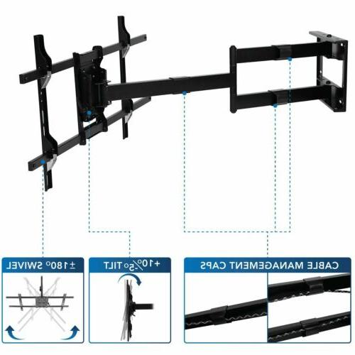 Mount-It! Arm TV 40 Inch Extension Fits 42-80