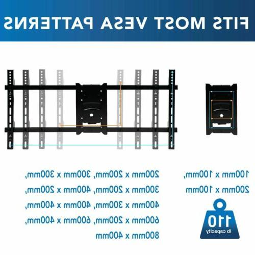 Mount-It! Motion Arm Mount with 40 | Fits TVs
