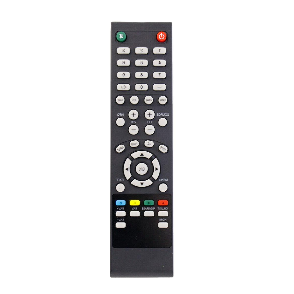 New Remote Control for Seiki LED HD TV SC-40FS703N SC-32HS70