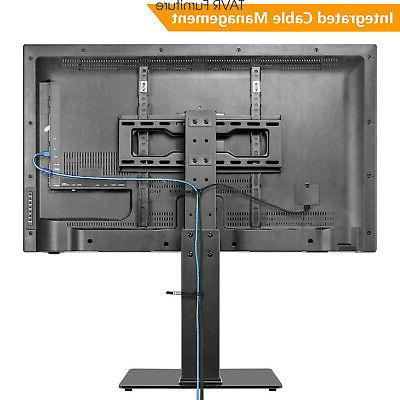 Swivel TV Stand with 37 40 45 55 inch TVs