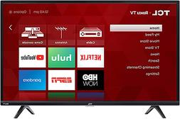 NEW TCL Smart LED Roku TV 40S325 1080p 40 INCH