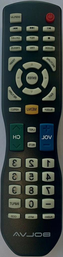 New Bolva TV Remote LD200 for 40BL00H7, 49BL00H7, 50BL00H7,