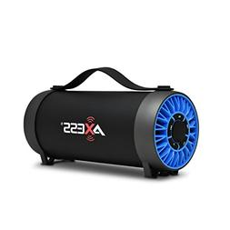 AXESS SPBT1056 Portable Bluetooth Speaker With Built-In Usb