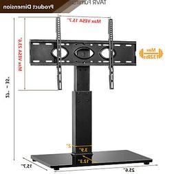 Tabletop TV Stand Base with Swivel Mount for 40-80 inch LCD