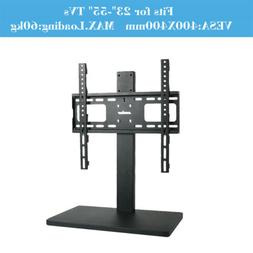 """Universal TableTop TV Stand for 32-60"""" TVs Height Adjustable"""