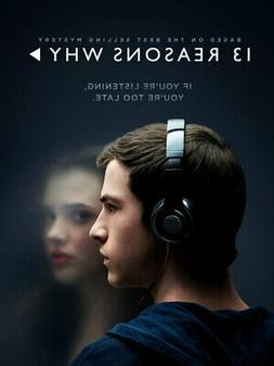 V7962 13 Reasons Why Clay Jensen Dylan Minnette TV Series WA